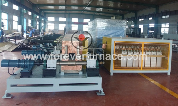 6000KW induction heating billet