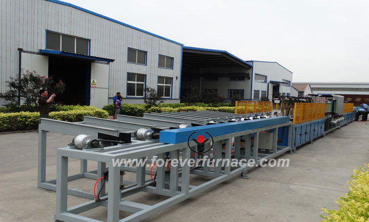 Bar heat treatment equipmpent