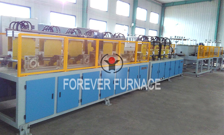 Carbon Steel Induction Hardening and Tempering Furnace