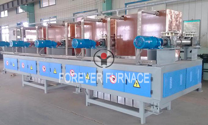 What heating equipment should be used for continuous casting billet?
