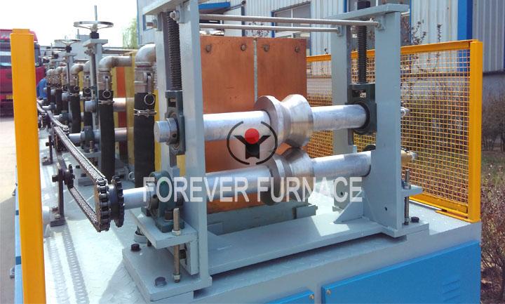 Grinding steel bar production line