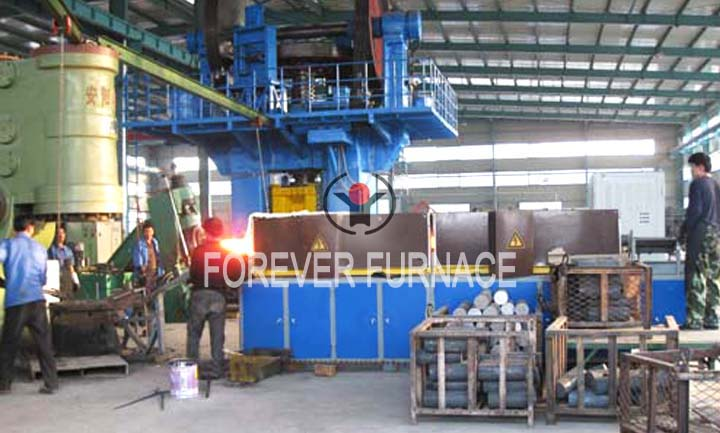 Heating Furnace Before Forging