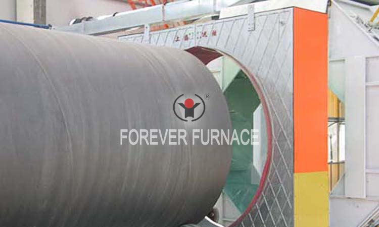 Induction Heating Furnace for Pipeline Corrosion Resistant Painting