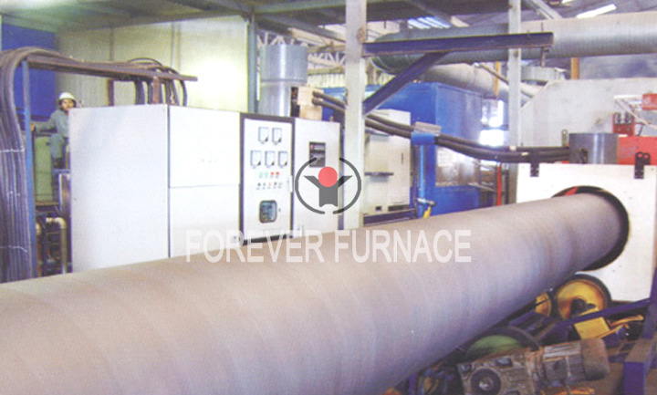Induction Heating Furnace for Pipeline Hot Spraying