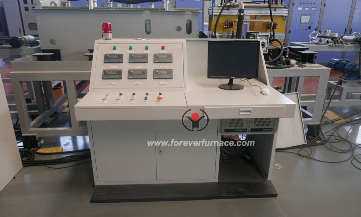 Induction quenching and tempering equipment