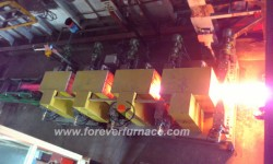Rolling steel heating furnace