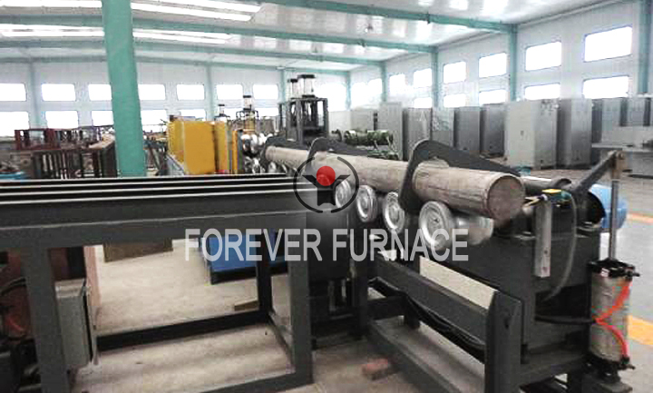 Round Steel Heating Equipment
