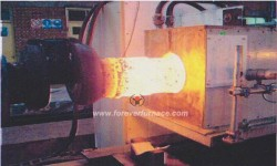 Shaft hardening heat treatment furnace