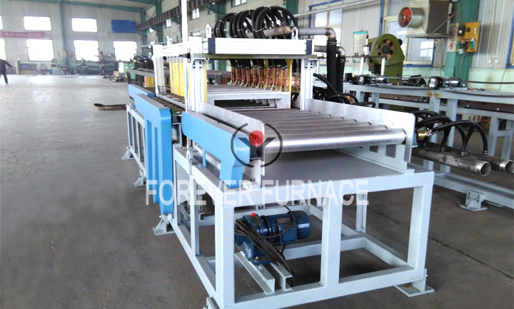 Slab Hardening and Tempering Heat Treatment Line