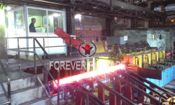 Slab Online Raising Temperature Induction Heating Furnace