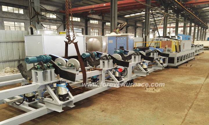 Steel pipe annealing machine