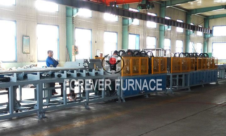 Stainless Steel Pipe Heating Furnace