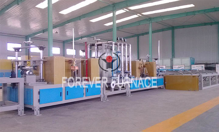 Steel Hardening and Tempering System for Heat Treatment