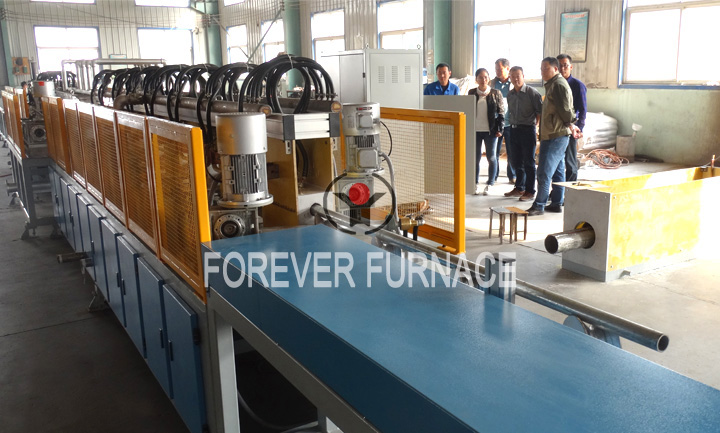 Steel Pipe Induction Quenching and Tempering System