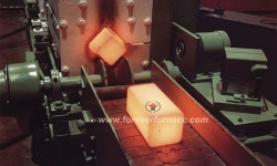 Steel billet heat treatment production line