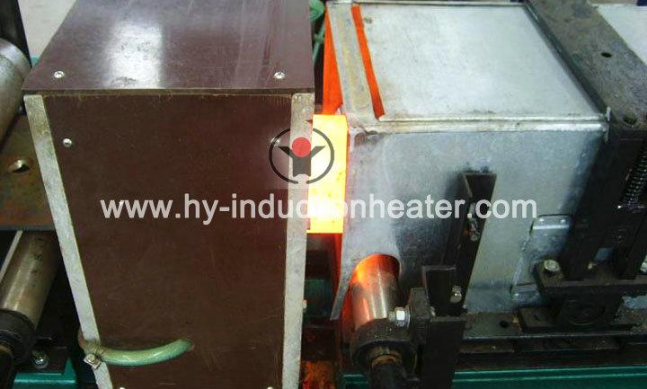 Steel slab heat treatment line