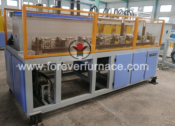 Torsion bar heat treatment furnace