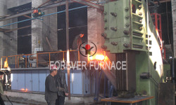 Bar Induction Heating Furnace Before Forging