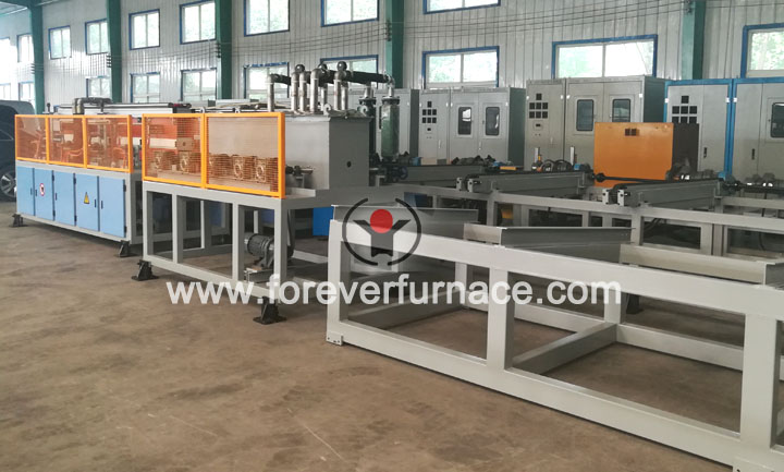 drill rod heat treatment machine