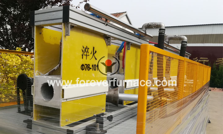 erw pipe heat treatment machine