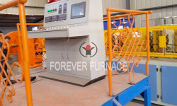 Forged grinding ball production line
