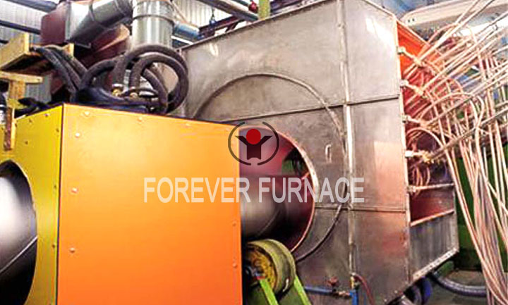 Heating Furnace for Pipeline Hot Spraying