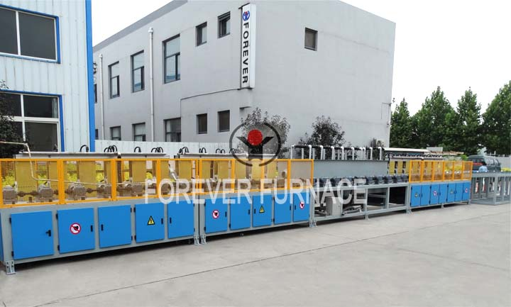 Induction hardening and tempering equipment,bar induction hardening and tempering machine