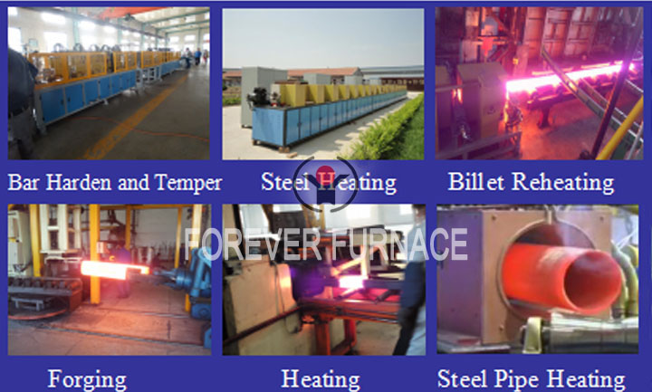 Medium Frequency Forging Heating Equipment Application