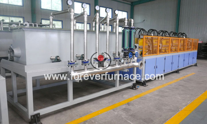 line pipe heat treatment machine