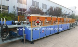 Pipe hardening and tempering furnace
