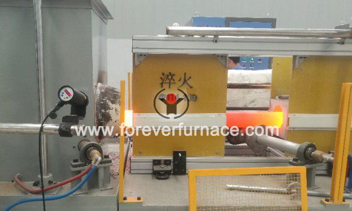 pipe heat treatment machine