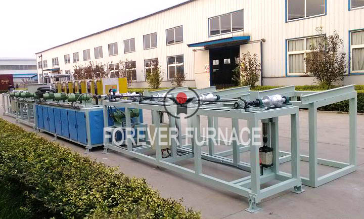 Round Steel Hardening and Tempering System