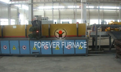 Round Steel Induction Heating System for Forging