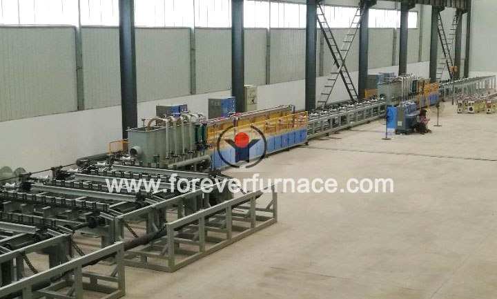 seamless pipe heat treatment machine
