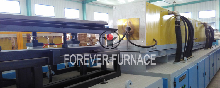 Successful stainless steel forging heat treatment furnace delivery !