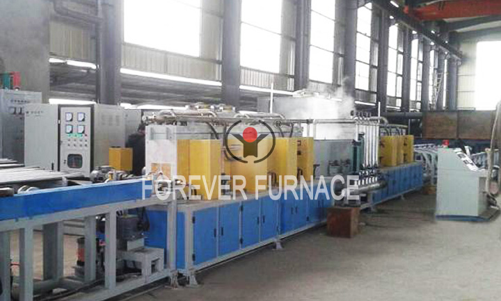Electric induction heating furnace,steel billet heating furnace