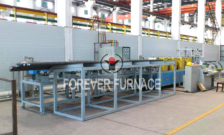 Steel Bar Hardening and Tempering System