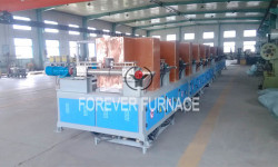 Steel Billet Hardening and Tempering System
