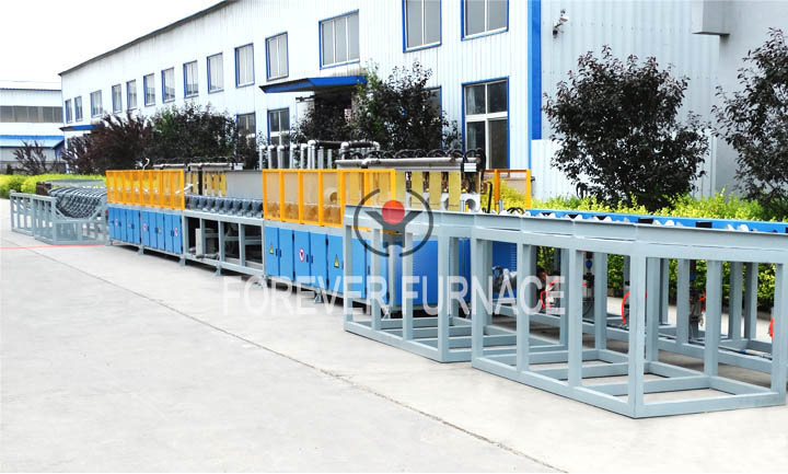 Steel Pipe Induction Heating Production Line