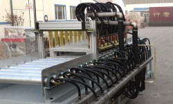 Steel sheet induction heating system